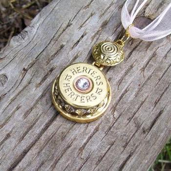 Shotgun Shell Pendant